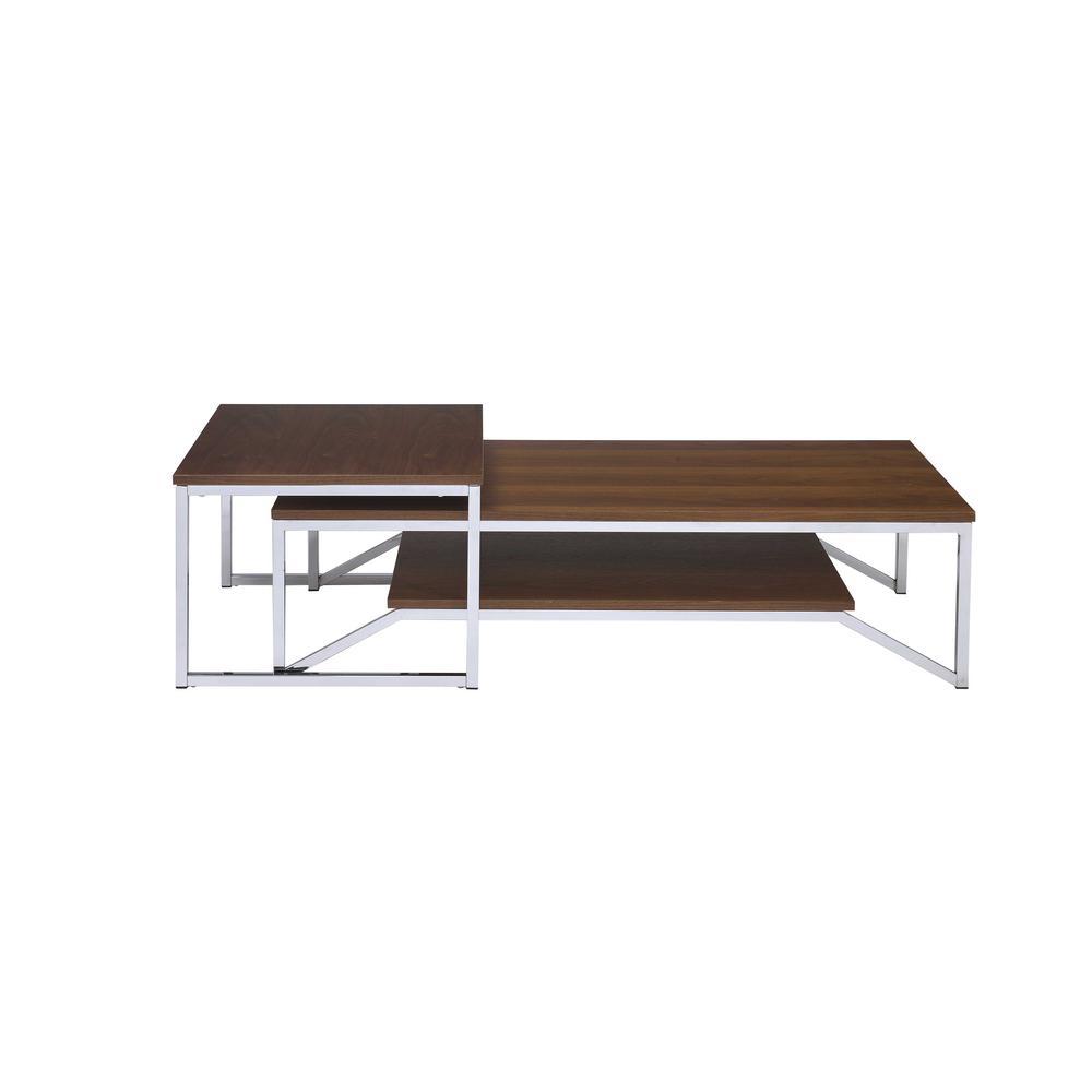 Broadus Walnut Nesting Table Set