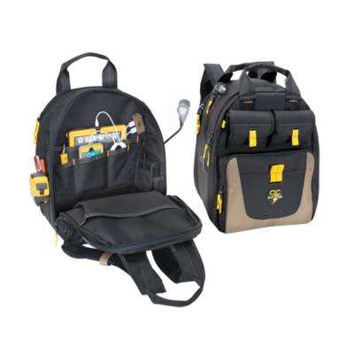 19-1/2 in. Tool Bag with 36-Pockets in Black