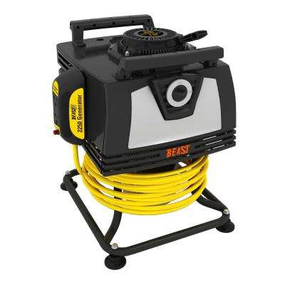 2250-Watt 140cc 5 HP Gasoline Powered Engine Portable Generator with Bonus 25 ft. Heavy-Duty Cord