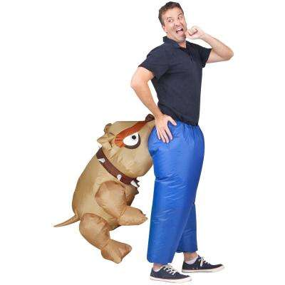 Inflatable Man-Eating Bull Dog Costume