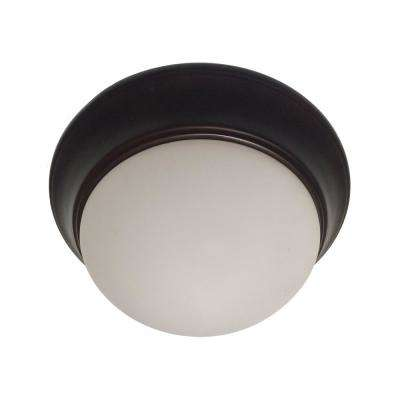 Bolton 1-Light Rubbed Oil Bronze CFL Flush Mount