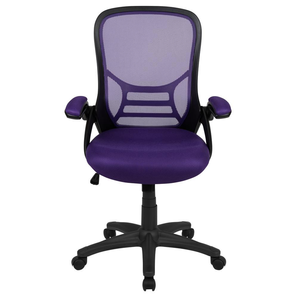 Purple Mesh Office/Desk Chair