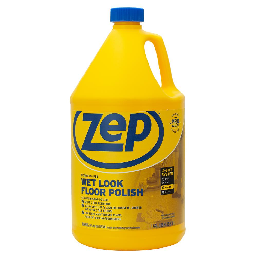 Zep 1 Gal Wet Look Floor Polish