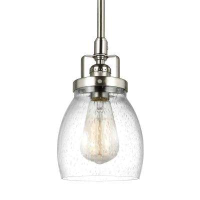 Belton 1-Light Brushed Nickel Pendant