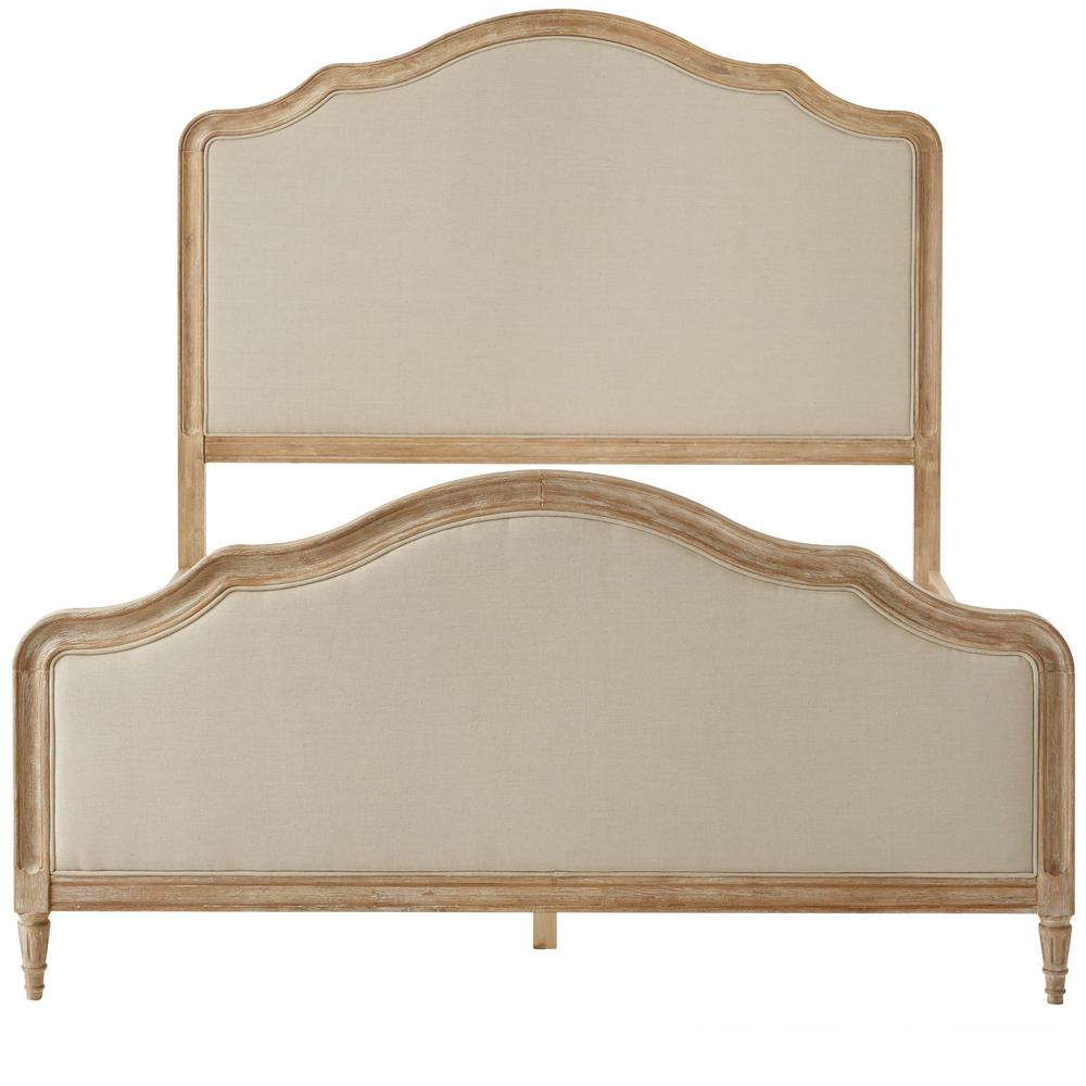 Home Decorators Collection Wellington Stone Wash Queen Bed