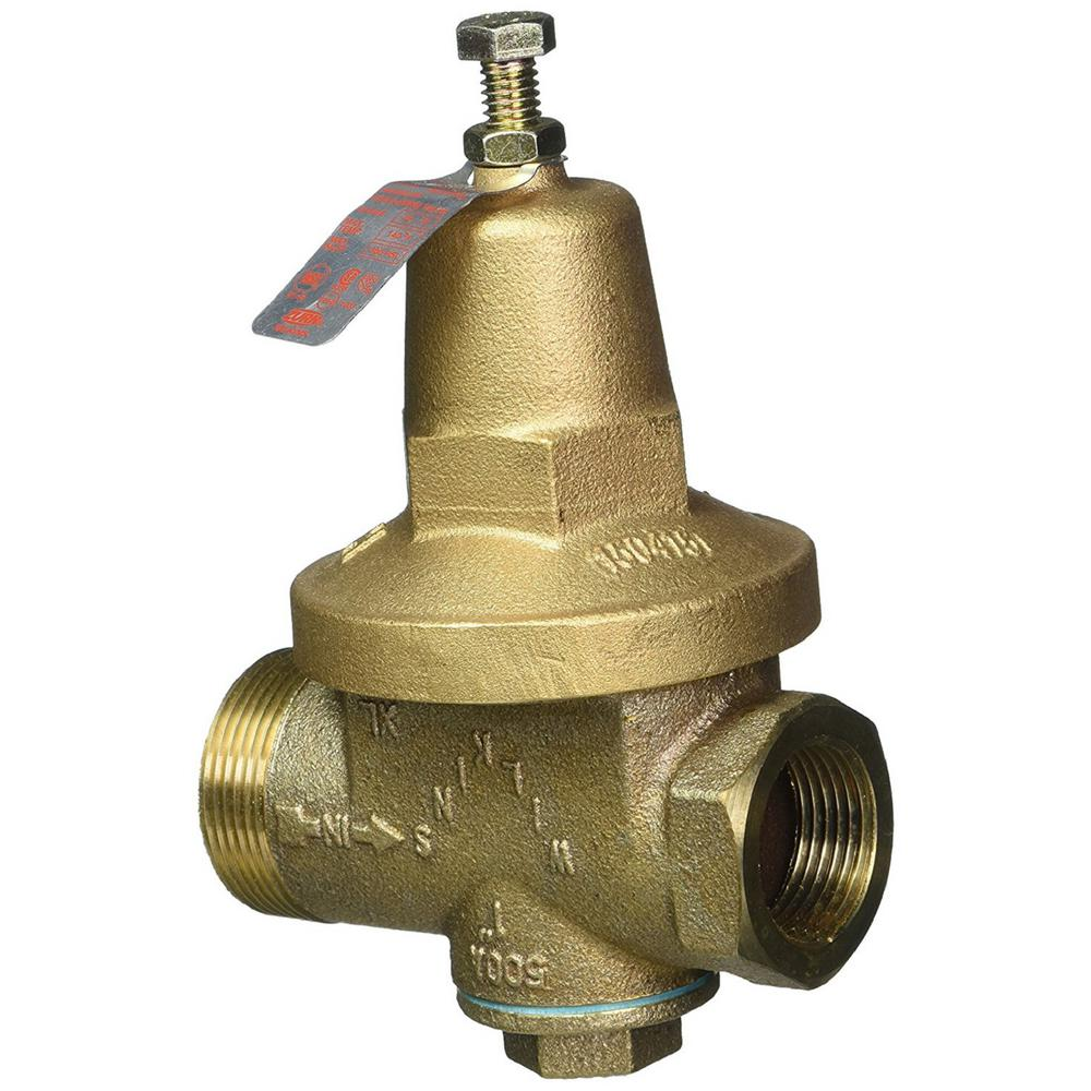 Wilkins 1 in. No Lead Pressure Reducing Valve Fnpt Union ...