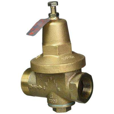 1 in. No Lead Pressure Reducing Valve FNPT Union x FNPT Tool