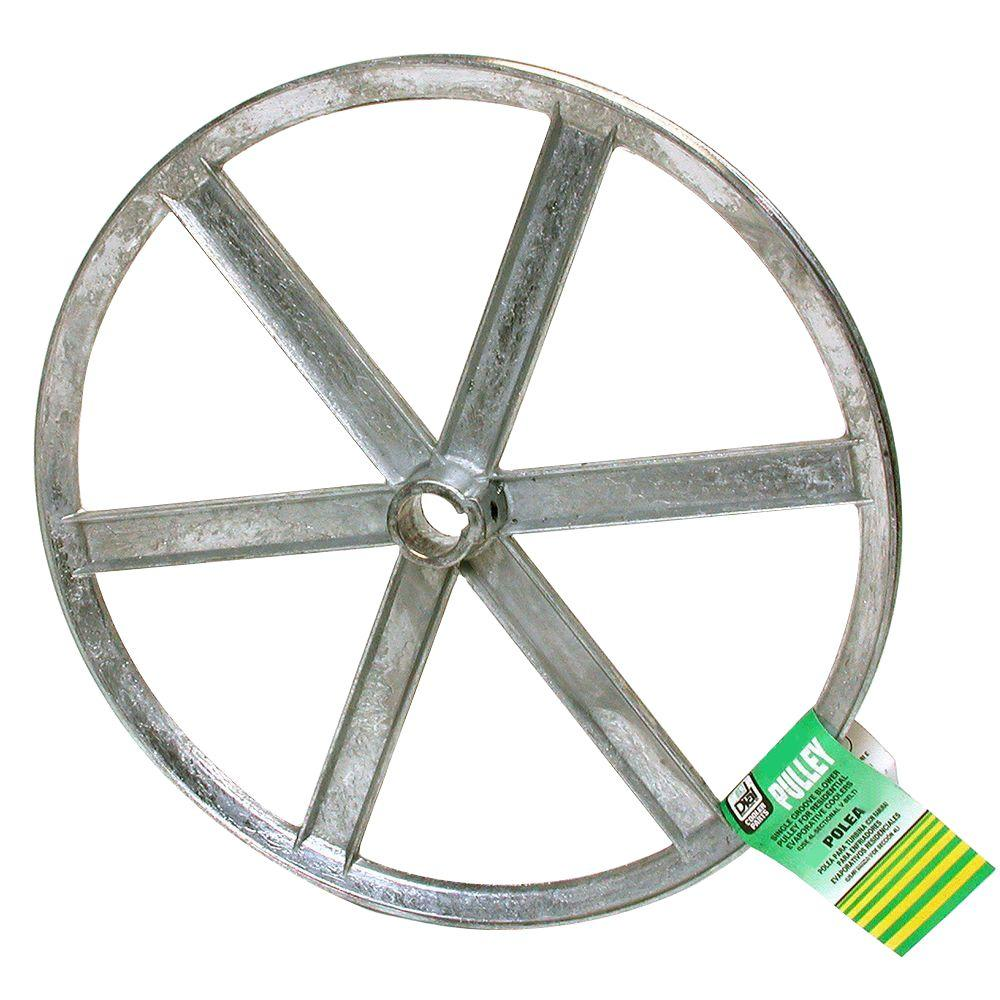 null 9 in. x 3/4 in. Evaporative Cooler Blower Pulley