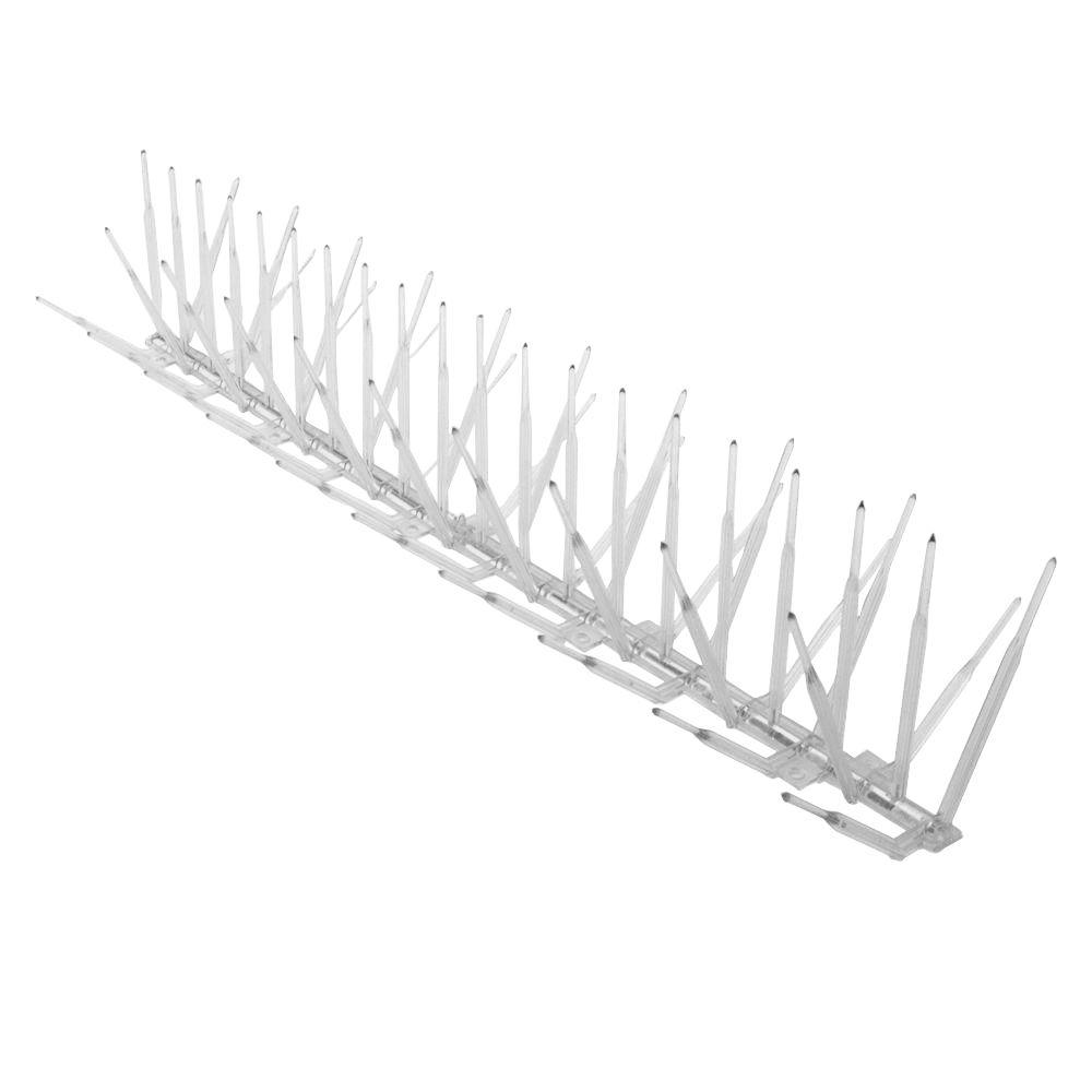 Bird B Gone 5 In X 240 In X 4 75 In Plastic Bird Spike Bbg2000 5 20 The Home Depot