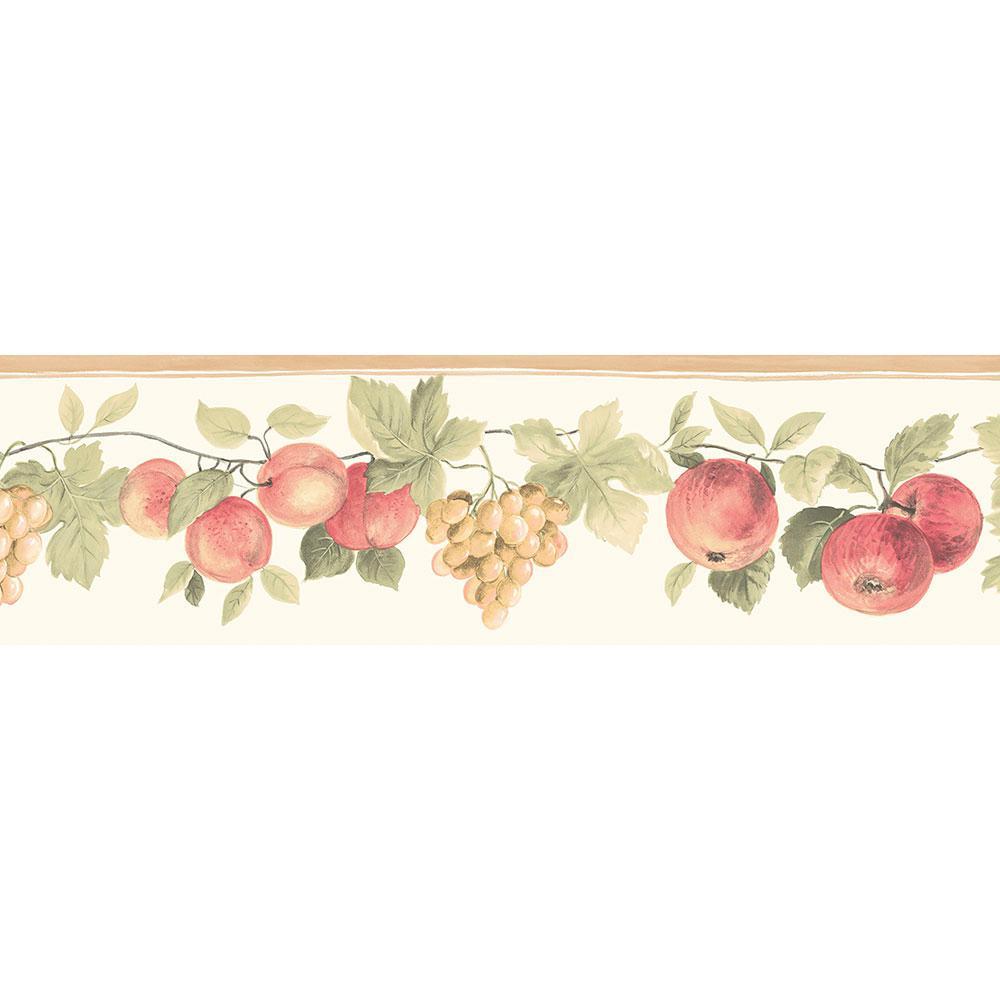 Norwall Hybrid Fruit Wallpaper Border Kc78350dc The Home