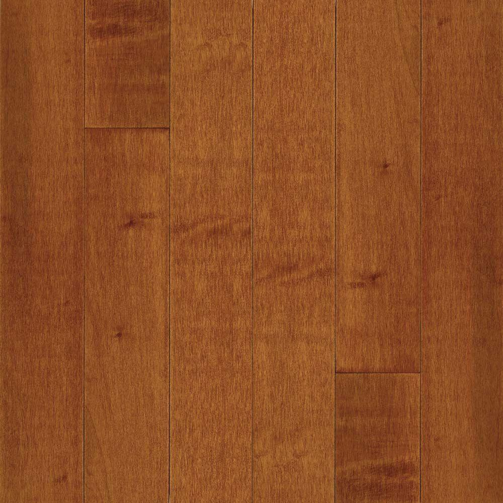 Maple Cinnamon Solid Hardwood