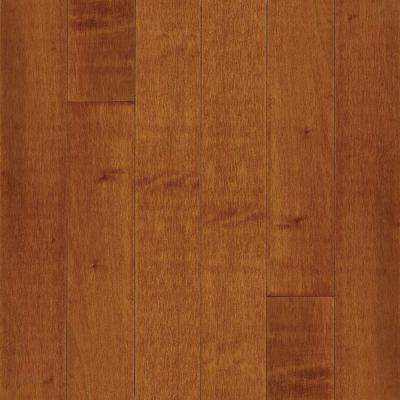 Take Home Sample - Maple Cinnamon Solid Hardwood Flooring - 5 in. x 7 in.