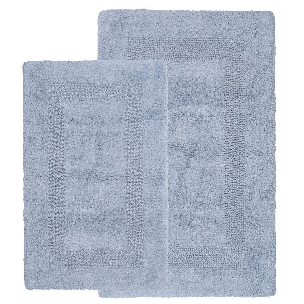 Lavish Home Silver 1 Ft 10 In X 2 Ft 11 In Cotton 2
