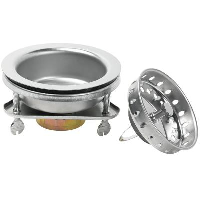 EZ Lock Sink Strainer in Stainless Steel