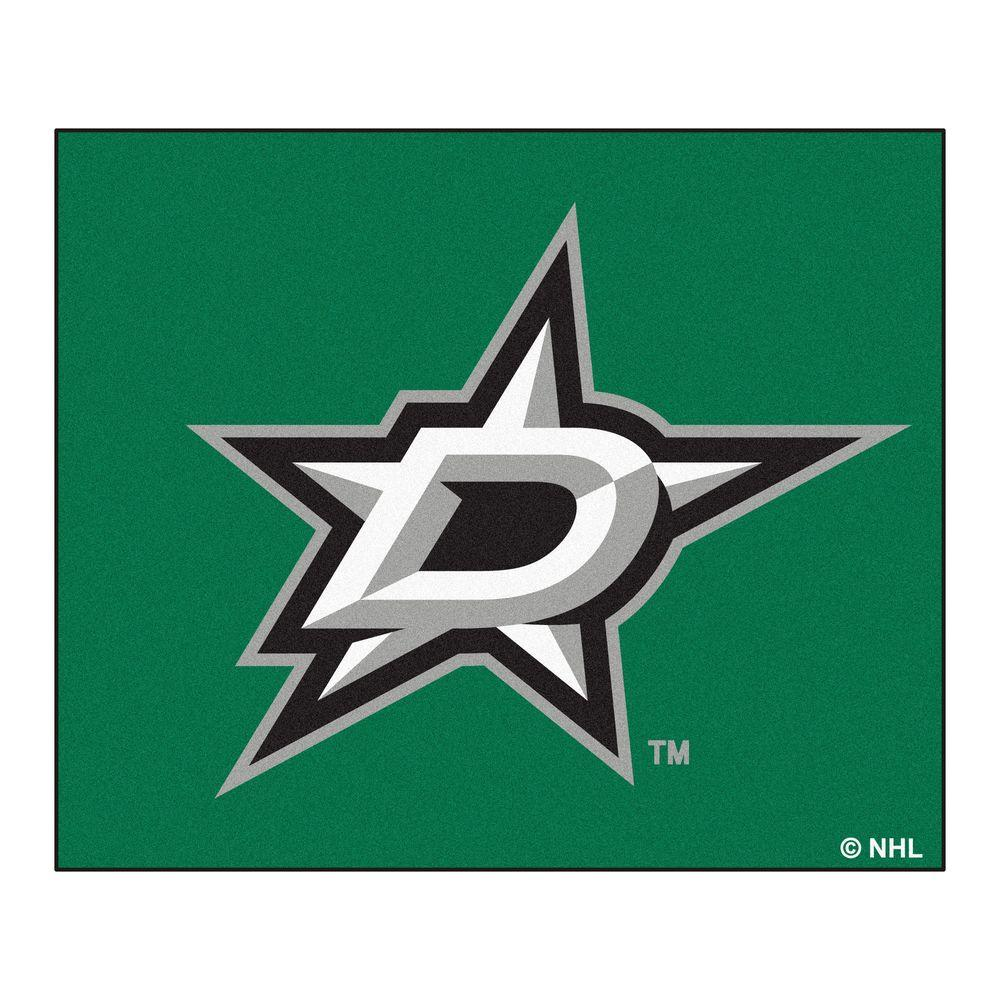 FANMATS Dallas Stars 2 ft. 10 in. x 3 ft. 9 in. All-Star Area Rug
