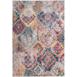 Safavieh Bristol Blue Light Gray 8 Ft X 10 Ft Area Rug