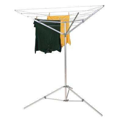 Portable Aluminum Indoor/Outdoor Umbrella Laundry Dryer