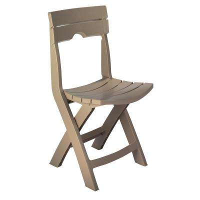 Quik-Fold Portobello Resin Plastic Outdoor Lawn Chair