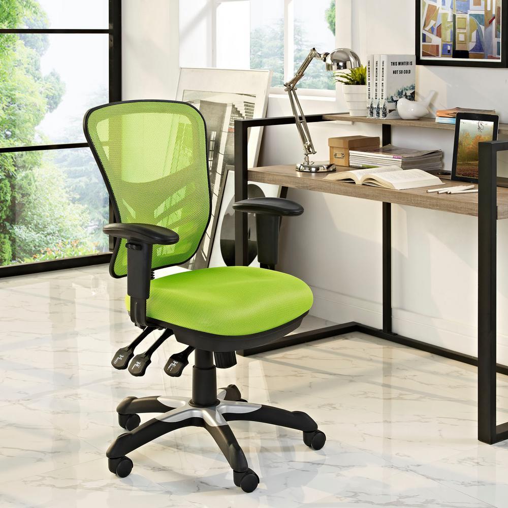 Modway Articulate Mesh Office Chair In Green-EEI-757-GRN