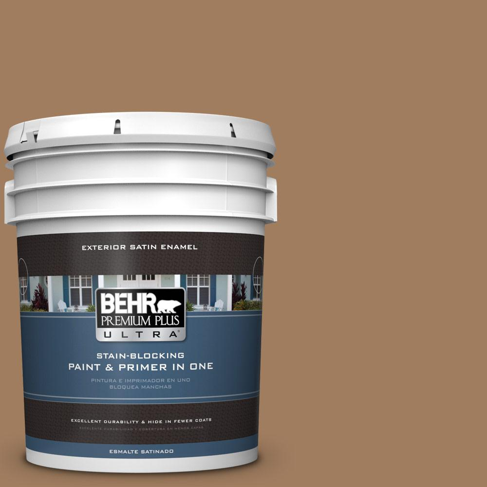 5 gal. #MQ2-11 Outdoor Land Satin Enamel Exterior Paint and Primer