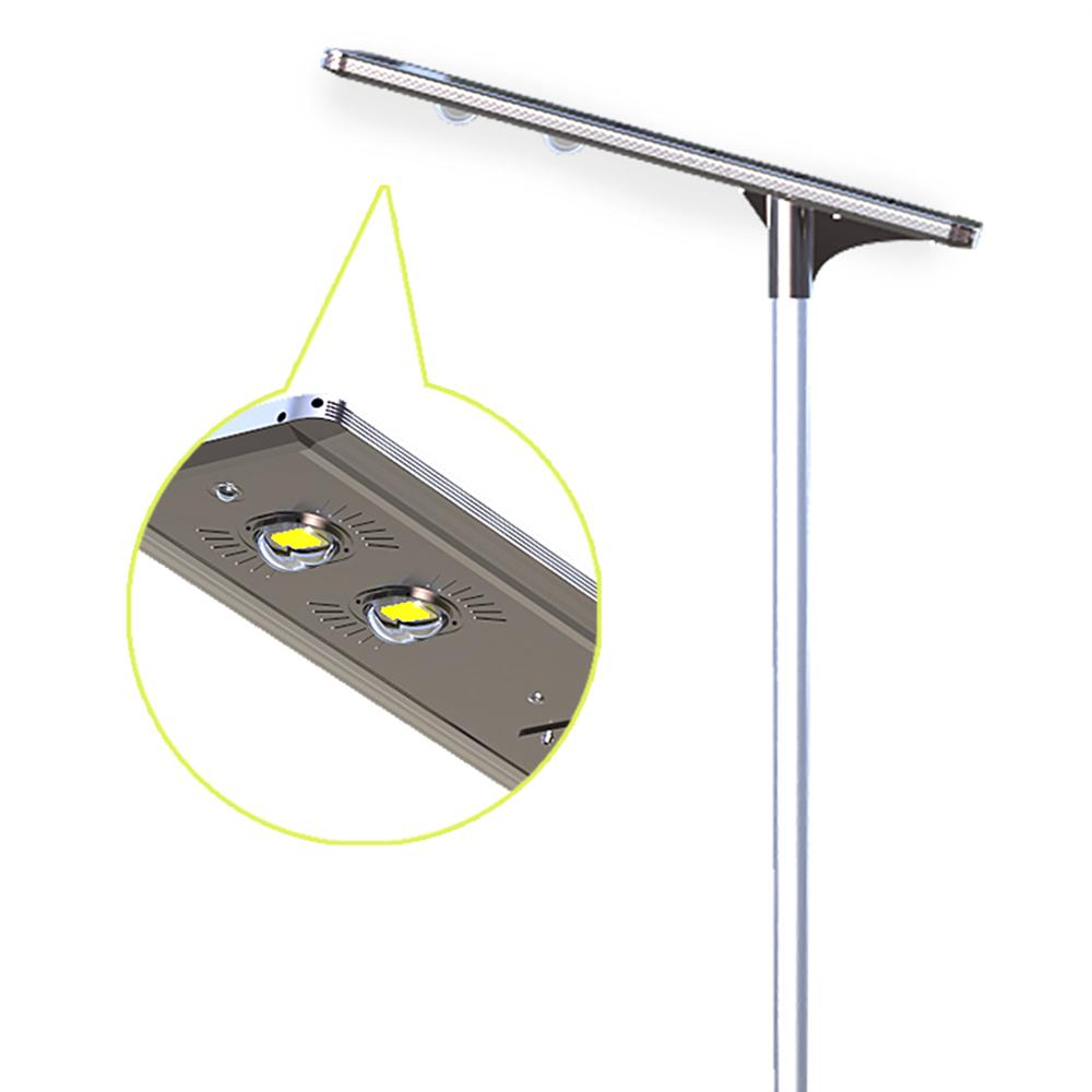 Eleding 60 watt gray solar ultra powerful motion activated for Led walkway lights