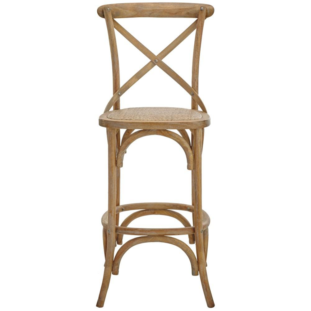 Excellent Hyde Cafe 30 In Black Bar Stool With Cane Seat Creativecarmelina Interior Chair Design Creativecarmelinacom