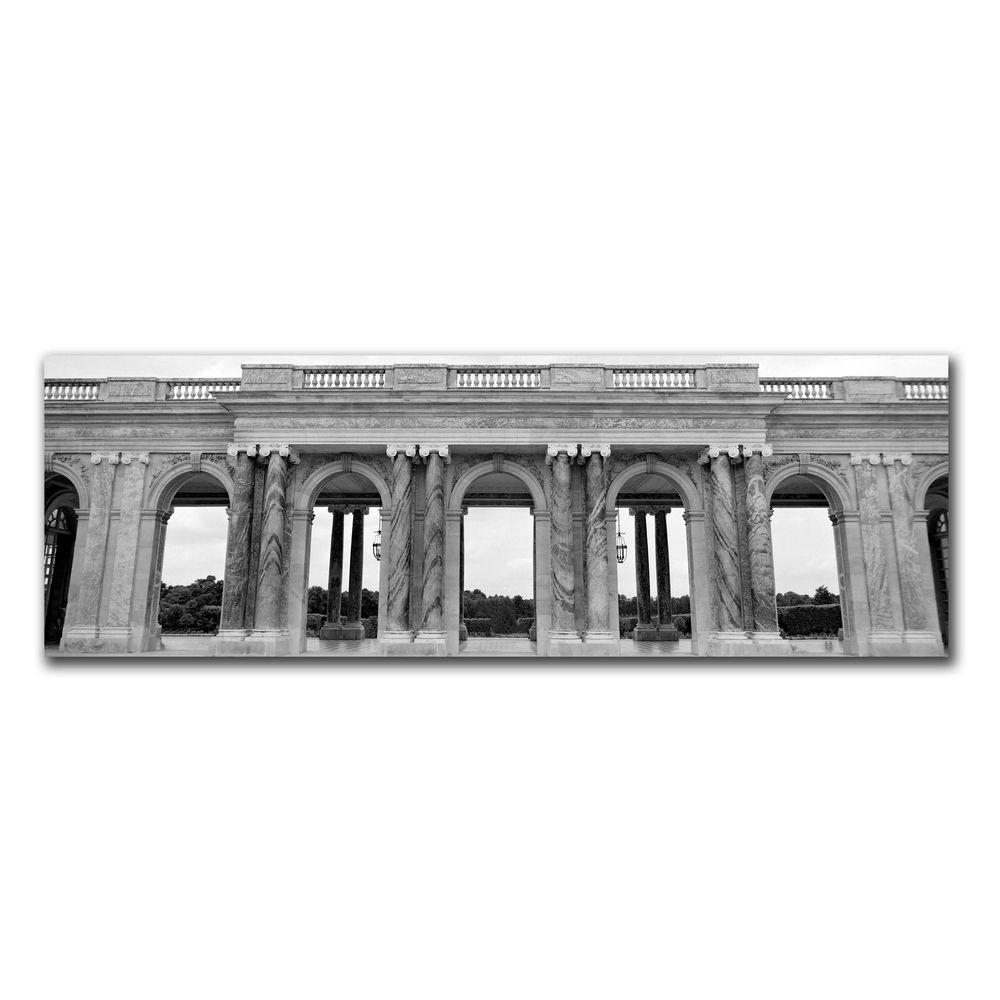 12 in. x 32 in. Palace des Versailles Canvas Art