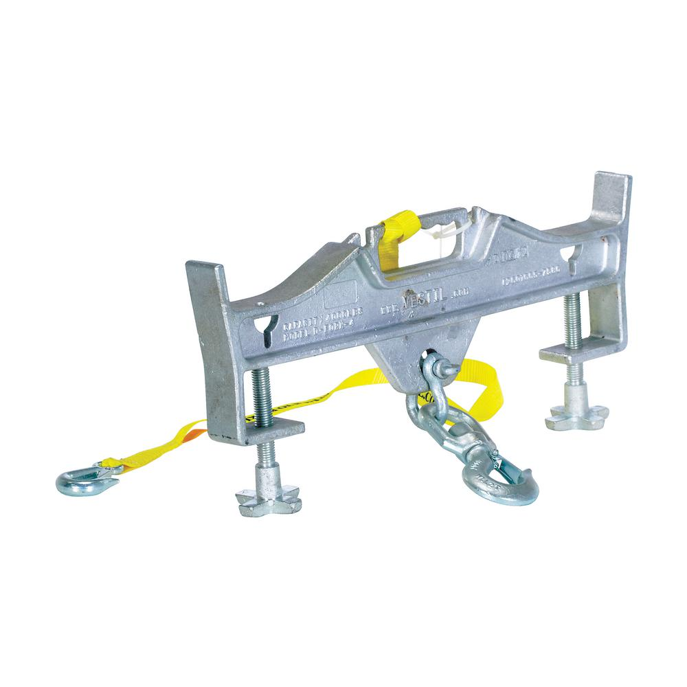 Vestil 10,000 Lb. Capacity Hoisting Hook Double Swivel