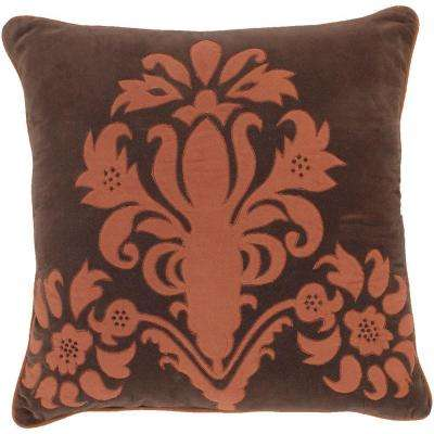 ElegantB3 18 in. x 18 in. Decorative Down Pillow