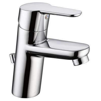 Modern Low Flow Project Pack Single Hole Single-Handle Bathroom Faucet in Chrome