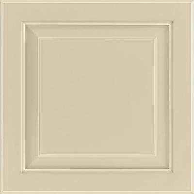 14-9/16x14-1/2 in. Cabinet Door Sample in Charlottesville Painted Cashmere