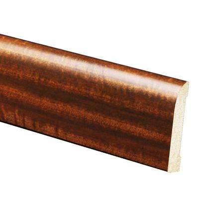 7/16 in. x 3-3/16 in. x 96 in. Mahogany Ranch Polystyrene Base Moulding (5-Pack)