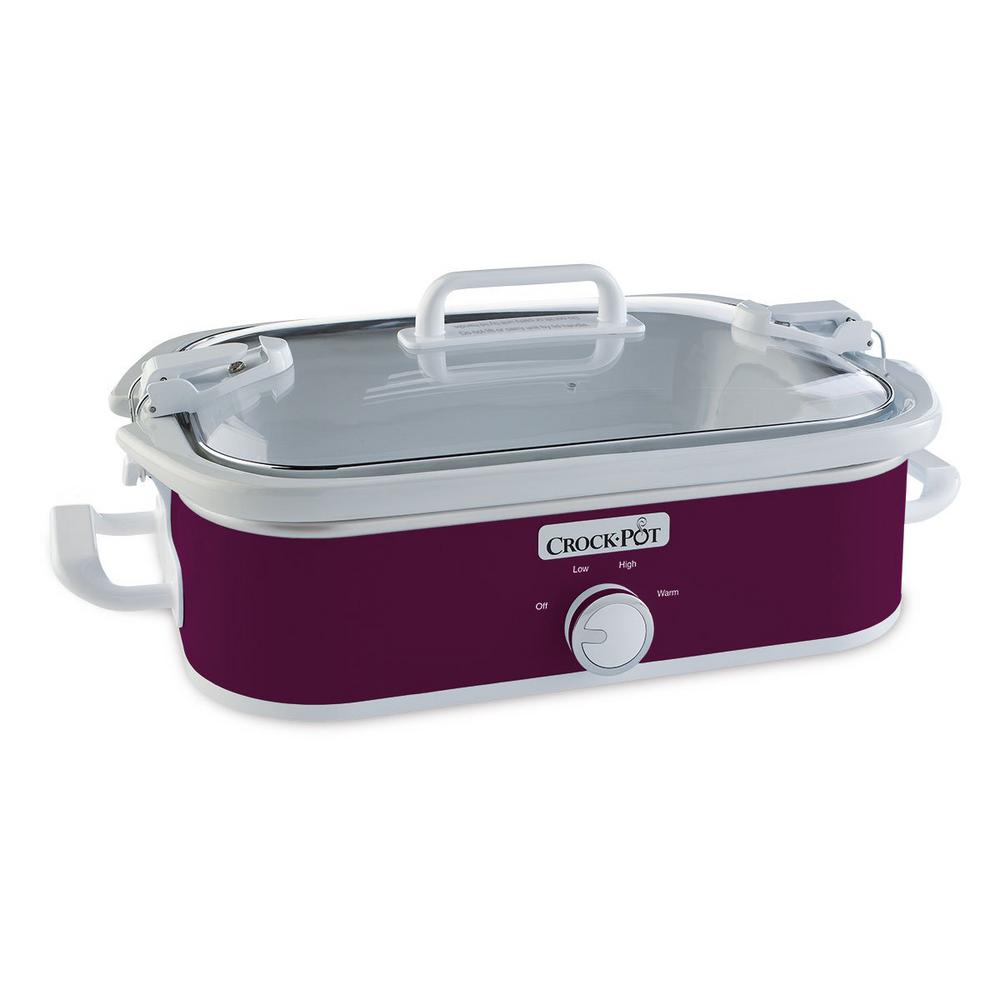3.5 Qt. Casserole Crock Slow Cooker Cranberry