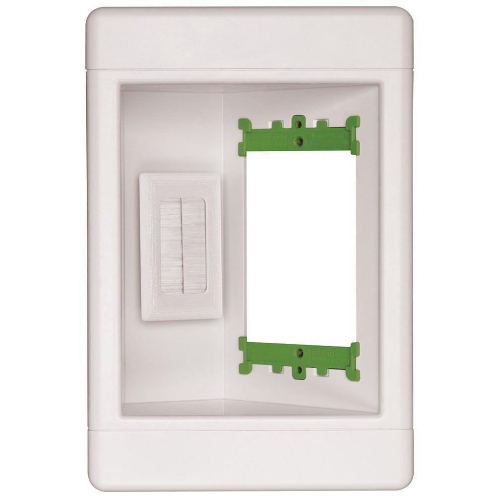 Legrand Pass U0026 Seymour Single Gang Recessed Media Box