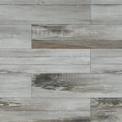 Duttonwood Ash 7 in. x 20 in. Matte Ceramic Floor and Wall Tile (14.58 sq. ft. / case)