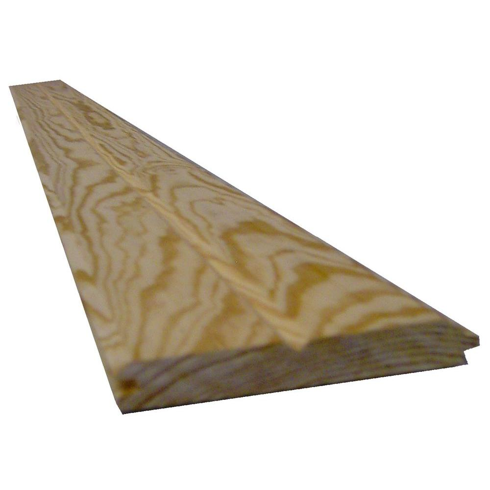 1 In X 8 In X 10 Ft Southern Yellow Pine Siding Board 0011339 The Home Depot