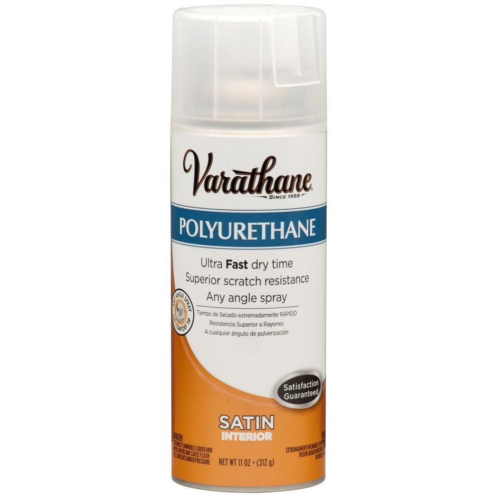 Varathane 11 oz. Poly Satin Spray Paint