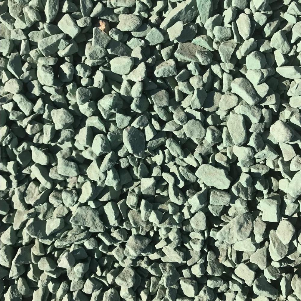 0.90 cu. ft. 75 lbs. 3/4 in. Foliage Green Landscaping Gravel
