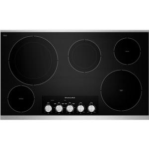 Kitchenaid 36 In Ceramic Glass Electric Cooktop In