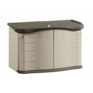 Rubbermaid 2 ft. 3 inch x 4 ft. 6 inch Split-Lid Horizontal Resin Storage Shed by Rubbermaid