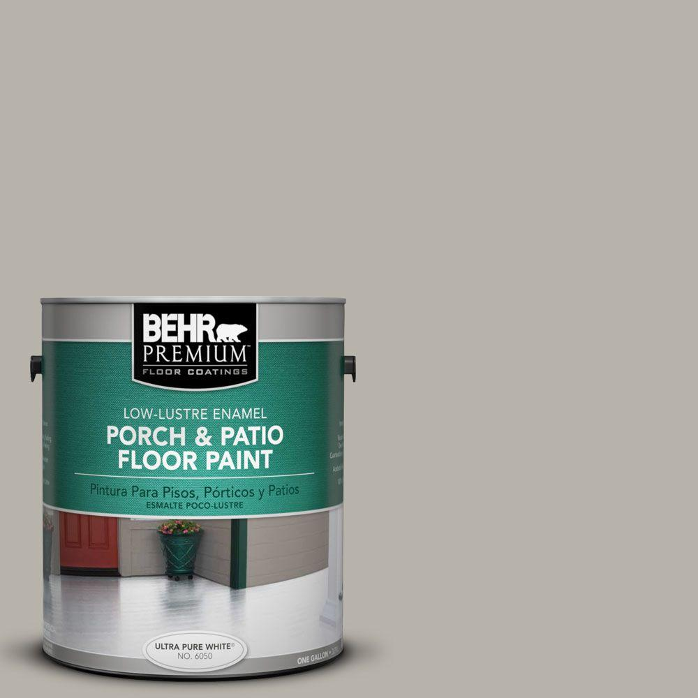 1 gal. #PFC-67 Mossy Gray Low-Lustre Interior/Exterior Porch and Patio Floor