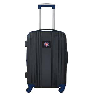 MLB Chicago Cubs 21 in. Red Hardcase 2-Tone Luggage Carry-On Spinner Suitcase