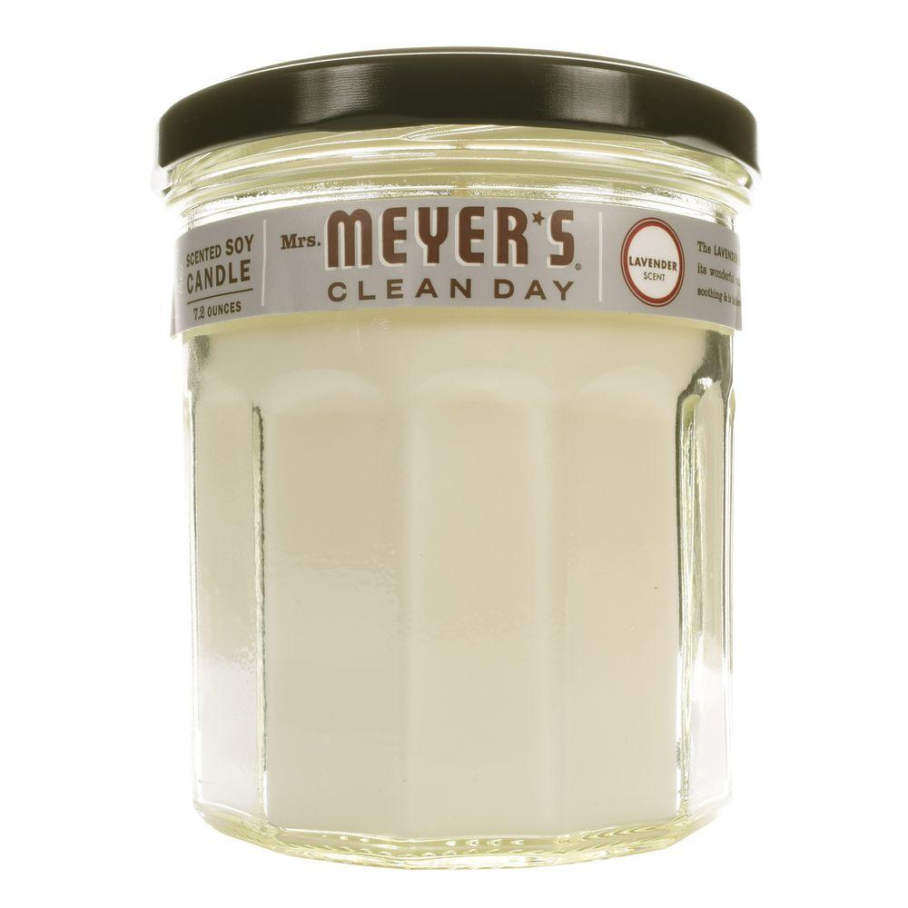 Mrs Meyers Clean Day 72 Oz Lavender Soy Candle 41116