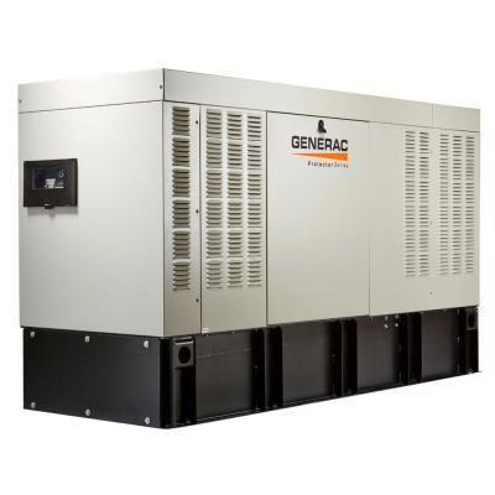 Protector 50,000-Watt 120-Volt/208-Volt 3-Phase Liquid Cooled Automatic Standby Diesel Generator