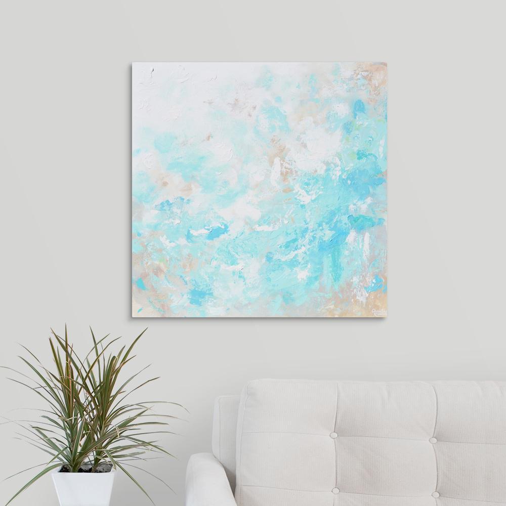 """Trranquill"" by Christine Krainock Canvas Wall Art"