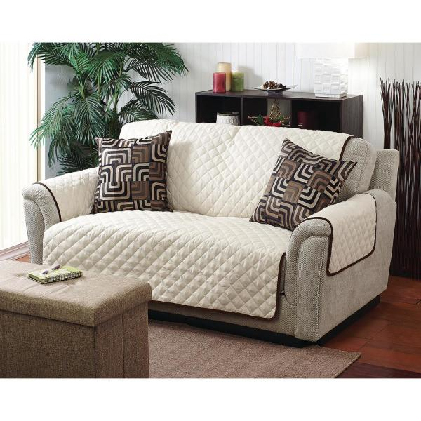 Home Details 75 In X 110 Double, Slipcover Sofa Furniture
