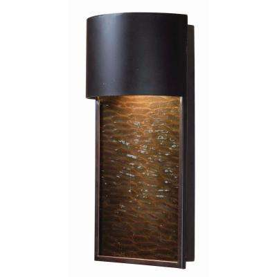 Lightfall 1 Light Bronze Outdoor Lantern