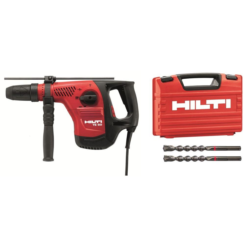 Hilti 120-Volt SDS-MAX TE 50 Combi Hammer Performance Package