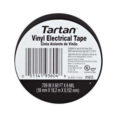 0.70 in. x 60 ft. x 6 mm. Electrical Tape (10-Pack)