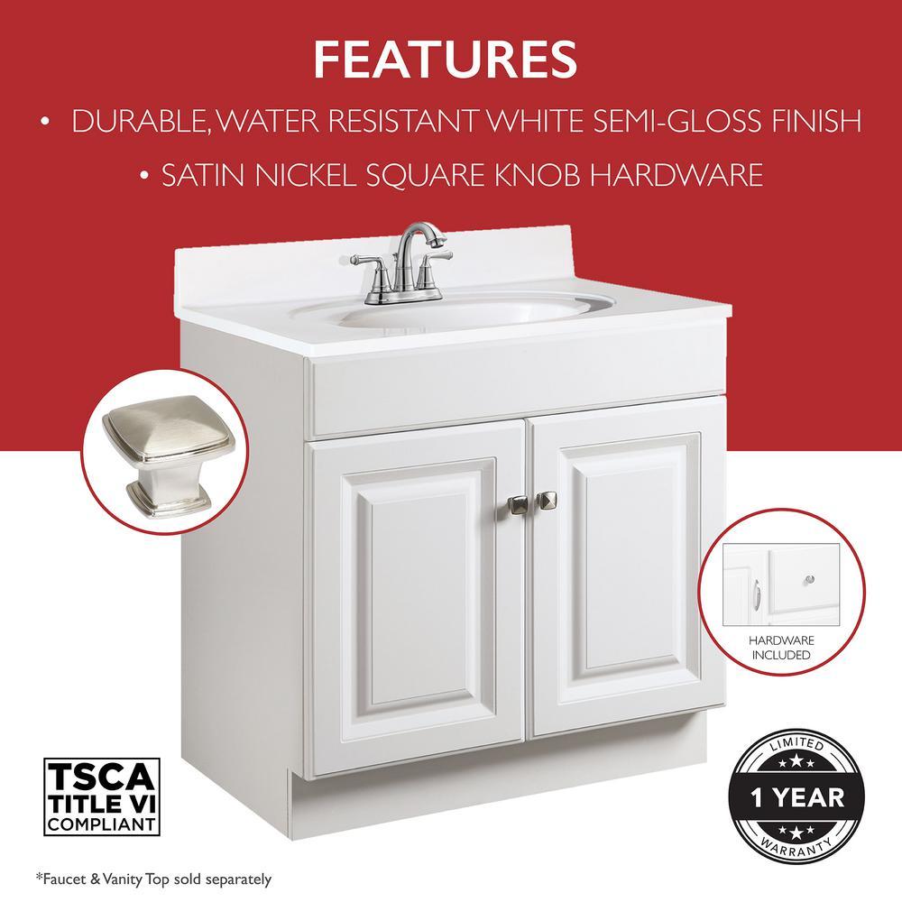 8 Inch Widespread Design House 597120 Wyndham Unassembled Bathroom Vanity Cabinet Without Top White Bathroom Fixtures Kitchen Bath Fixtures Rayvoltbike Com